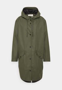 ONLY Carmakoma - CARNEWSTATION RAINCOAT - Classic coat - kalamata - 0