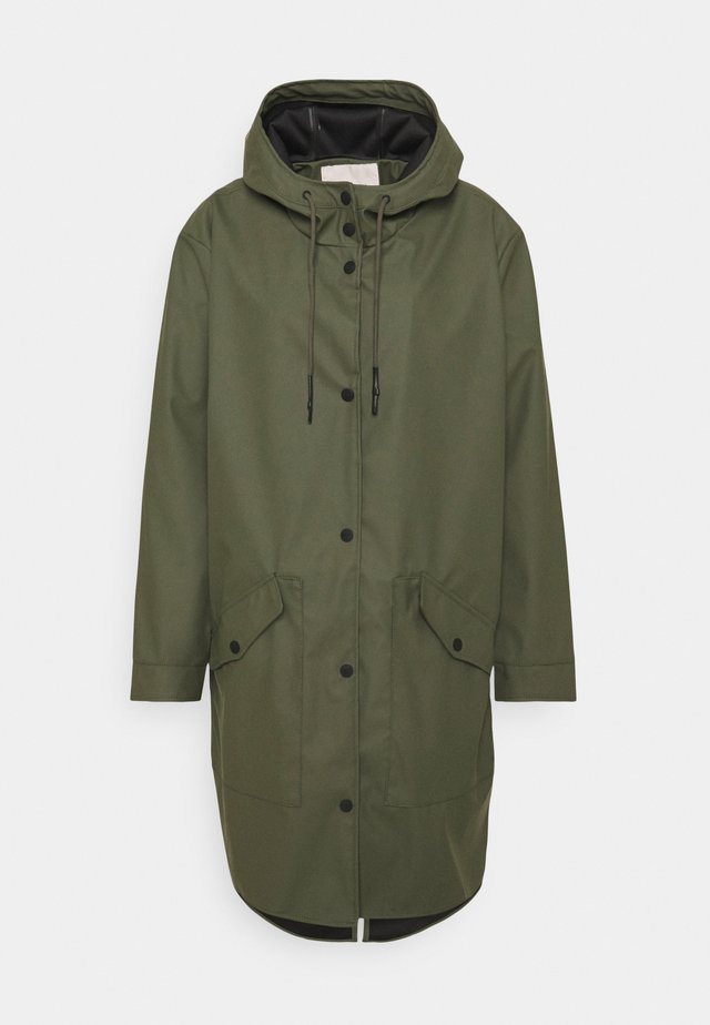 CARNEWSTATION RAINCOAT - Mantel - kalamata