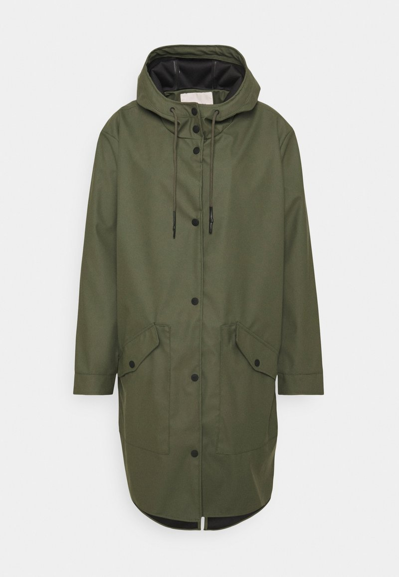 ONLY Carmakoma - CARNEWSTATION RAINCOAT - Classic coat - kalamata