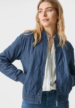 Bomber Jacket - jeans blau