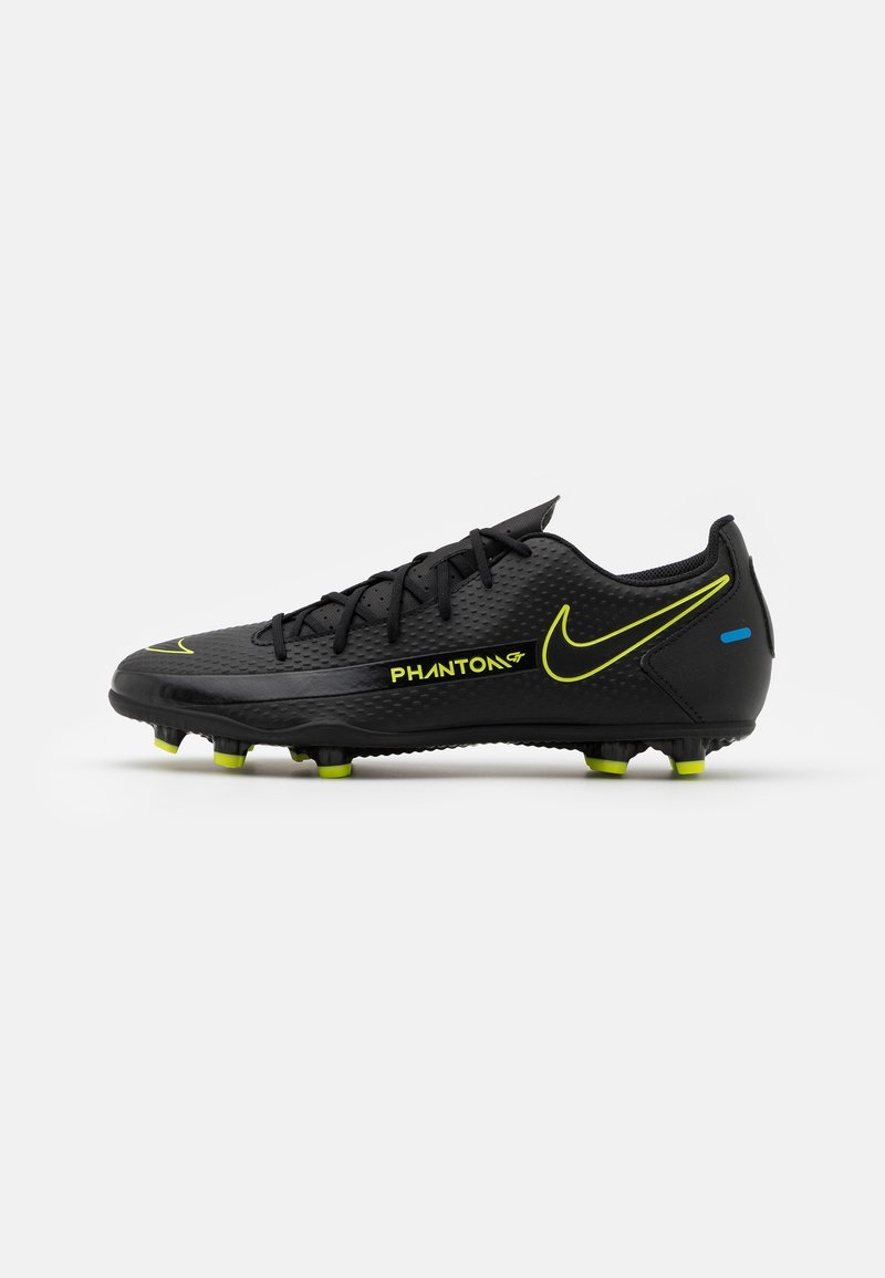 Nike Performance - PHANTOM GT CLUB FG/MG - Moulded stud football boots - black/cyber/light photo blue