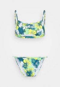FREYAH SET - Bikini - blue/yellow