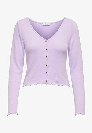 STRUKTUR - Chaqueta de punto - pastel lilac