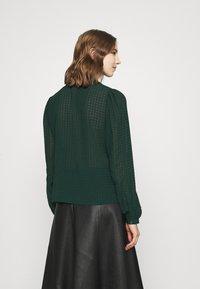 JDY - JDYDIANE PUFF SHIRT - Button-down blouse - scarab - 2