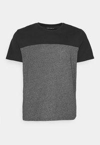 Pier One - Print T-shirt - black/mottled dark grey - 0