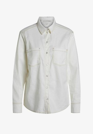 Button-down blouse - white swan