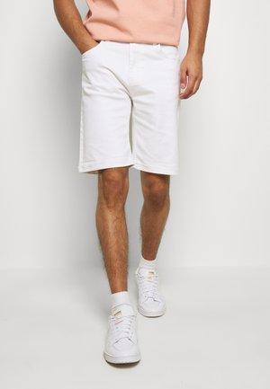 MR ORANGE - Denim shorts - white