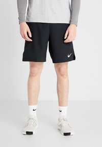 Nike Performance - FLEX VENT MAX SHORT - Pantaloncini sportivi - black/white - 0