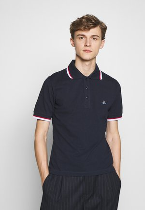 NEW POLO - Polo shirt - navy