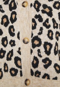 New Look Curves - ANIMAL BUTTON THROUGH CARDIGAN - Cardigan - brown - 2