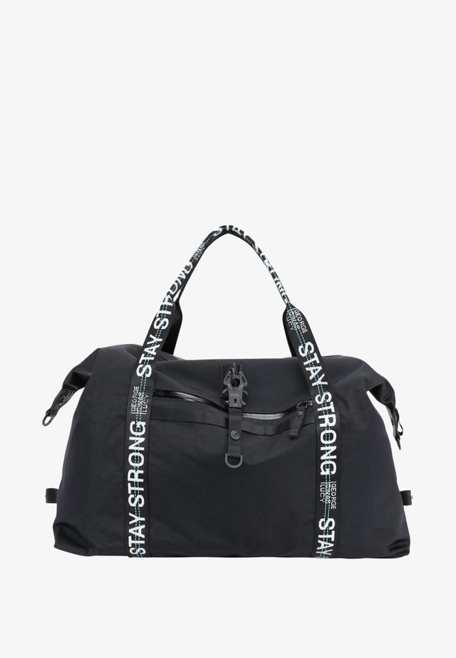 Weekend bag - black strong