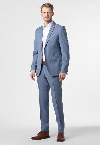 BAUKASTEN  - Suit trousers - hellblau