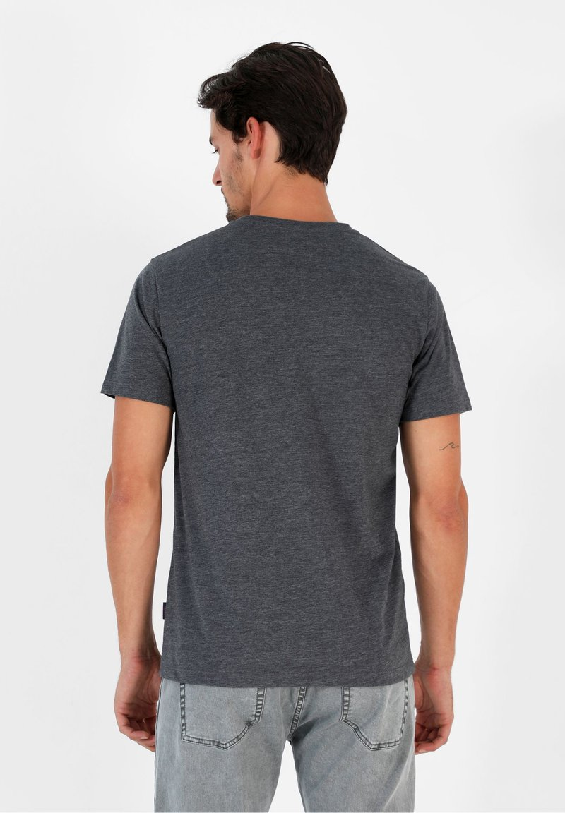 Scalpers T-Shirt basic - dark grey vigore/dunkelgrau gLRdN6