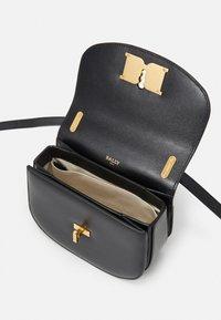 Bally - CHAIN MINI BAG - Across body bag - black - 3
