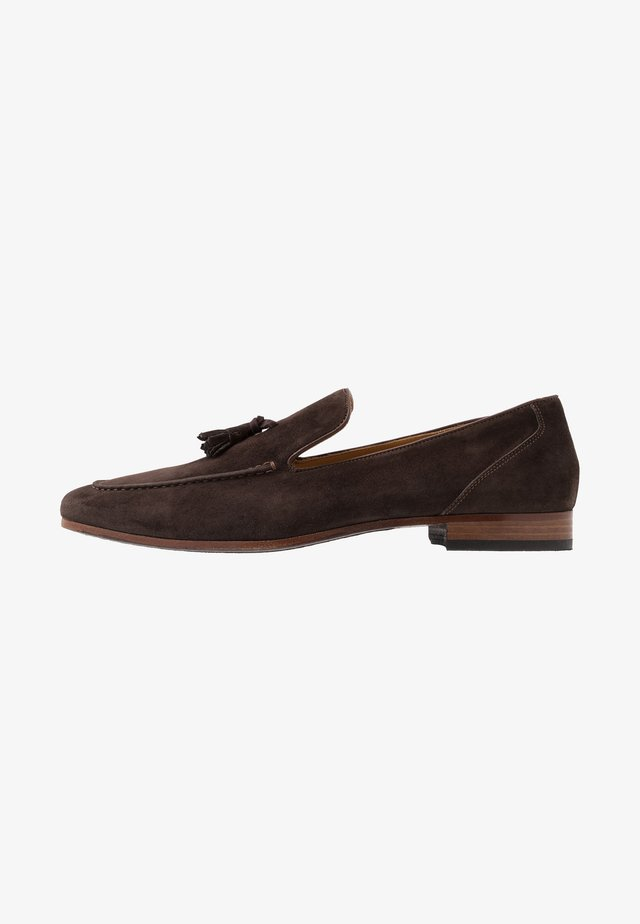 HOTTER - Slip-ons - dark brown