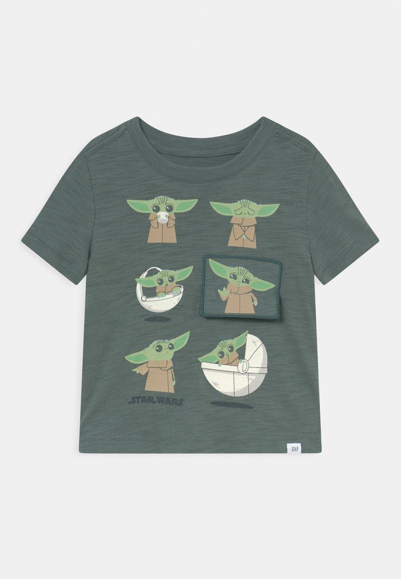 GAP - TODDLER BOY FLIPPY - Print T-shirt - district green
