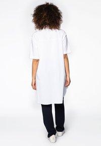 Yoek - Button-down blouse - white - 2