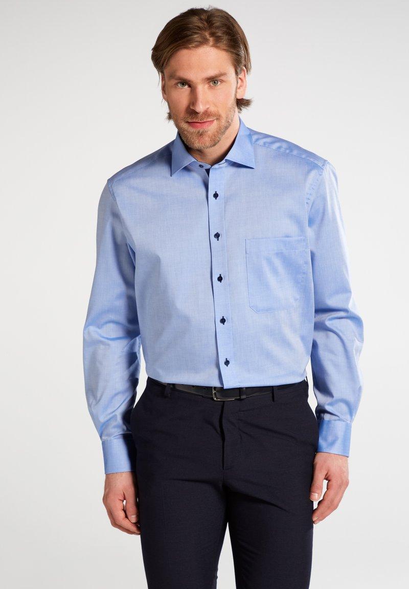 Eterna - REGULAR FIT - Formal shirt - mittelblau