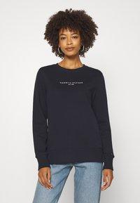 Tommy Hilfiger - REGULAR - Sweatshirt - dark blue - 0