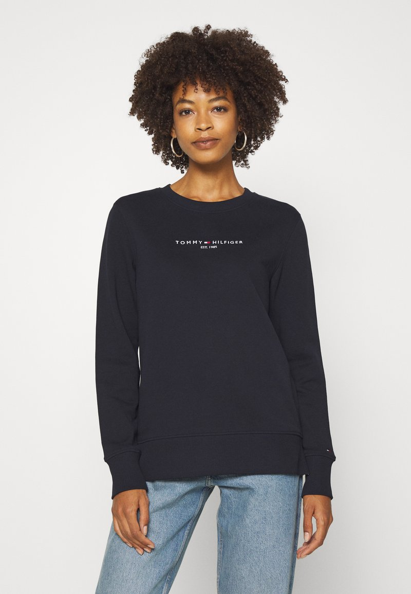 Tommy Hilfiger - REGULAR - Sweatshirt - dark blue
