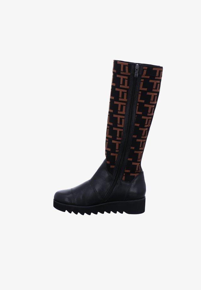 UMBRIA - Boots - schwarz-kombi