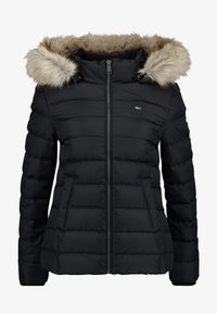 Tommy Jeans - ESSENTIAL HOODED JACKET - Down jacket - tommy black - 6