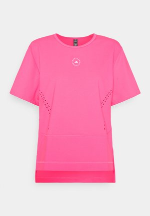 TEE - Triko spotiskem - pink
