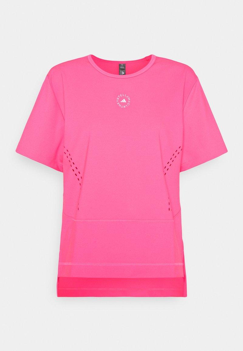 adidas by Stella McCartney - TEE - Triko spotiskem - pink