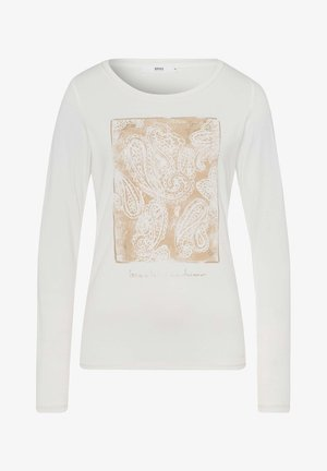 STYLE CARINA - Long sleeved top - ivory