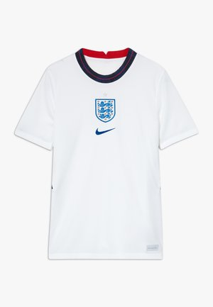 ENGLAND ENT Y NK BRT STAD SS HM - Oblečení národního týmu - white/sport royal