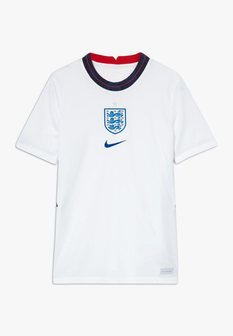 Nike Performance - ENGLAND ENT Y NK BRT STAD SS HM - Voetbalshirt - Land - white/sport royal