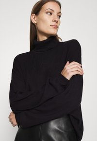 Zign - SOFT TURTLE NECK - Jumper - black - 3