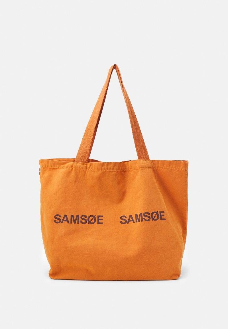 Samsøe Samsøe - FRINKA SHOPPER - Tote bag - golden ochre