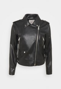Freequent - FQSANDY - Faux leather jacket - black - 0