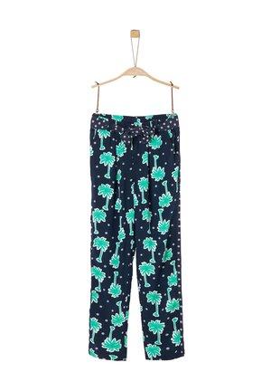 BROEKEN - Trousers - blue aop