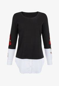 Amy Vermont - Blouse - schwarz rot weiß - 1