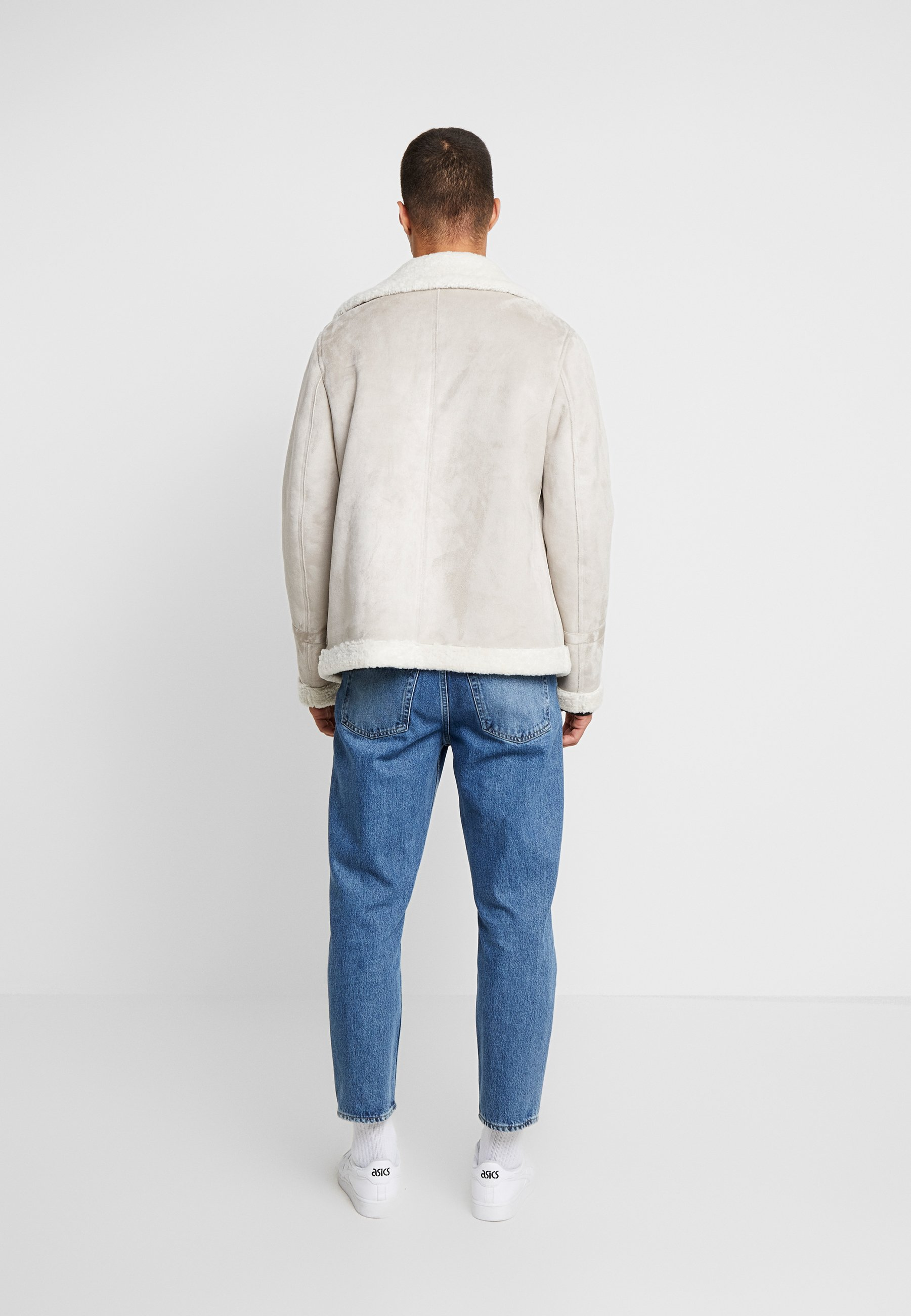 Oakwood JUSTIN - Veste en similicuir - light grey