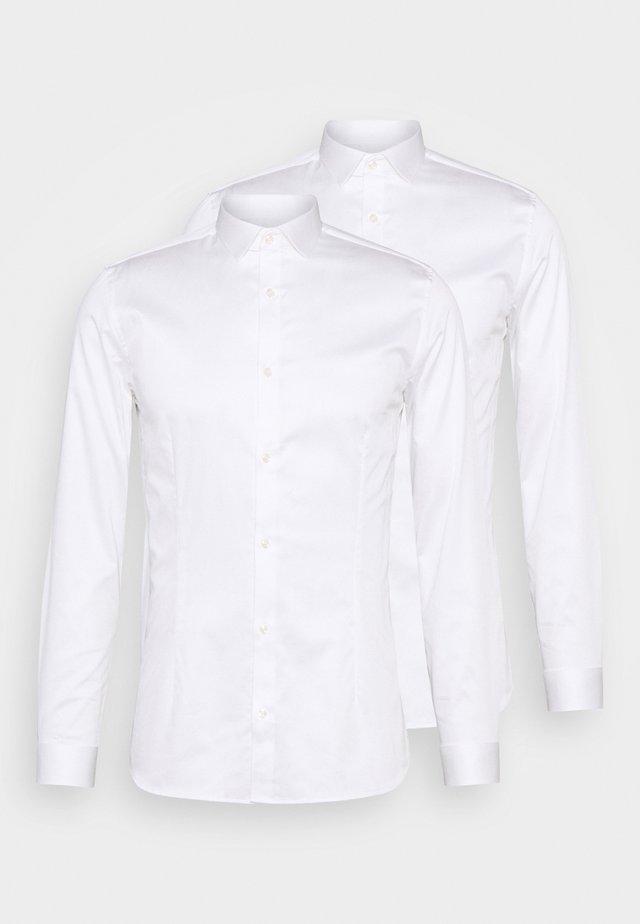JPRBLAPARMA 2 PACK - Shirt - white