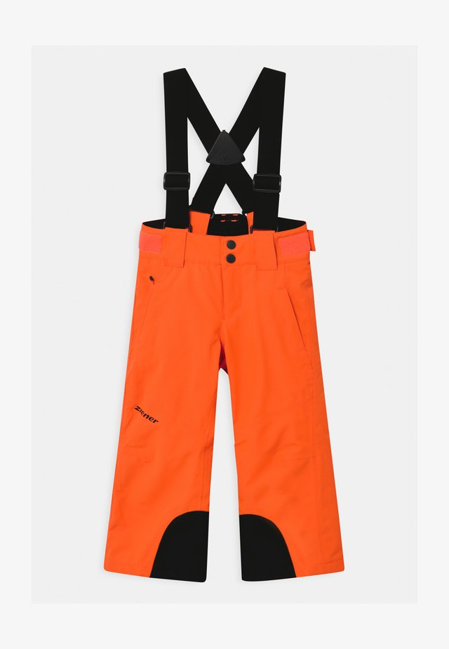 ARISU UNISEX - Skibroek - neon orange