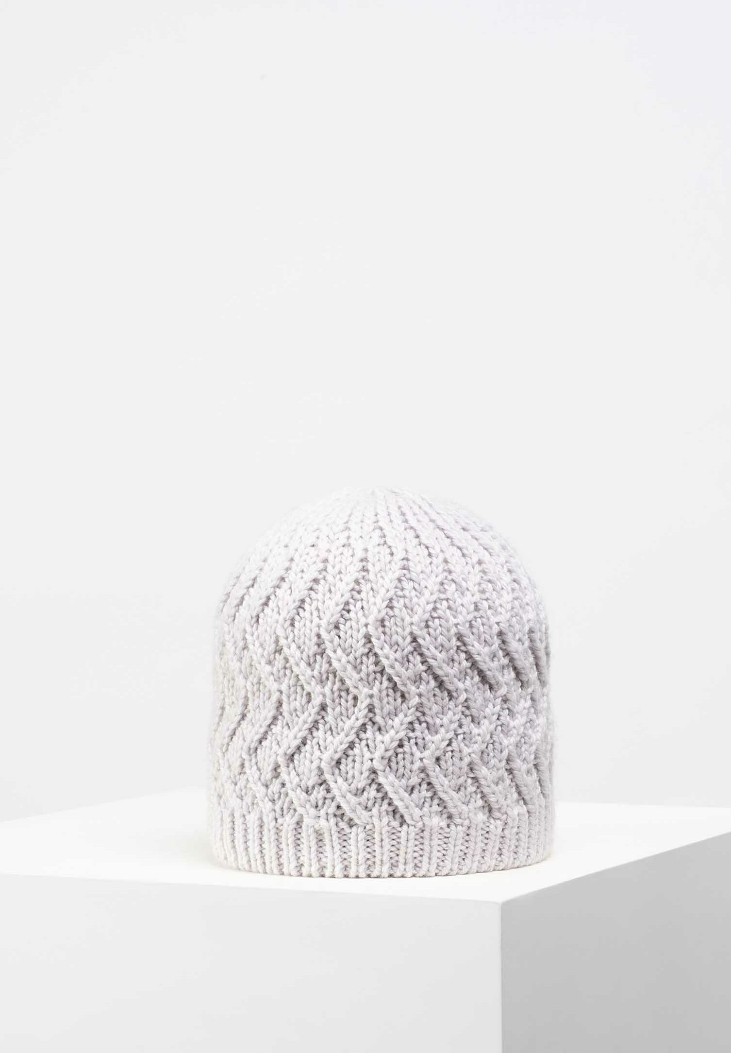 Giesswein Mütze - Marmor/beige