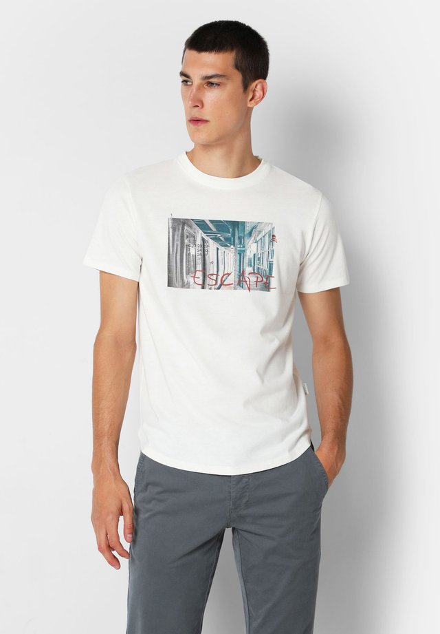 T-shirt imprimé - off white