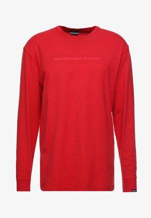 SAKAT  - Camiseta de manga larga - cherry red
