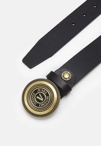 Versace Jeans Couture - CINTURA UNISEX - Pásek - nero - 1