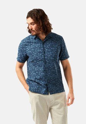 NOSIBOTANICAL PASPORT - Shirt - poseidon blue print