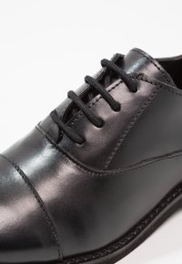 Friboo - LEATHER - Lace-ups - black - 5