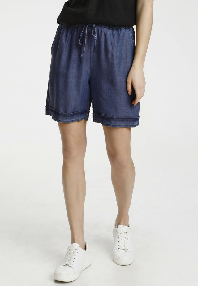CUMINDY  - Shorts di jeans - light blue wash