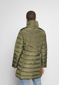 Dorothy Perkins - SUSTAINABLE LONG JACKET - Classic coat - khaki - 2