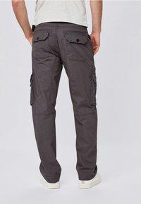 Next - TECH - Cargo trousers - grey - 1