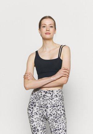 RIDE BRA - Medium support sports bra - black