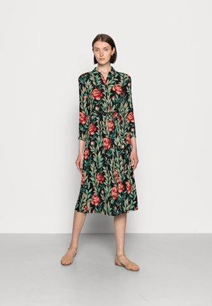 ROSIE MIDI DRESS FLORENCE - Shirt dress - black